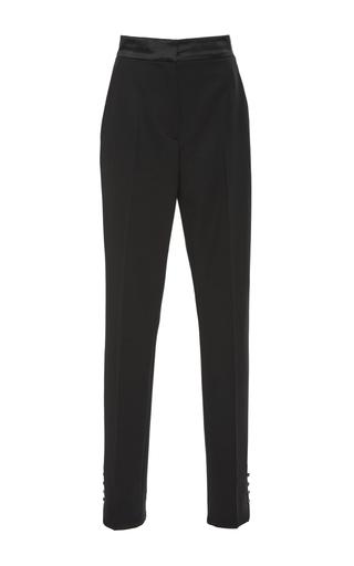 Medium oscar de la renta black high waist cigarette pants
