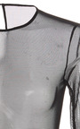 Long Sleeve Bodysuit by OSCAR DE LA RENTA Now Available on Moda Operandi