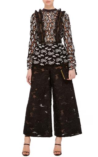 Flora Lace Blouse by SELF PORTRAIT Now Available on Moda Operandi