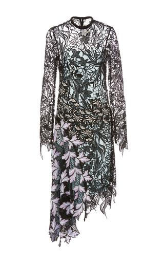 Medium self portrait floral vine lace midi dress