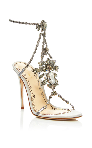 Medium marchesa silver krista sandal