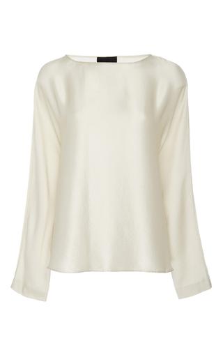 Reade Silk Top by NILI LOTAN Now Available on Moda Operandi
