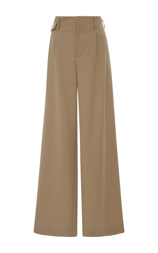 Medium nili lotan tan gia wide leg pants