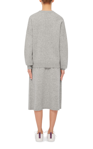 Boiled Wool Pleated Skirt by JOSEPH Now Available on Moda Operandi