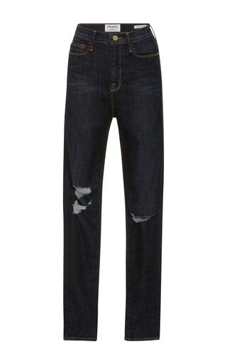 Medium frame denim dark wash ali high rise jeans