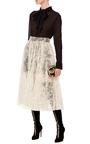 Le Chiffon Tie Blouse by FRAME DENIM Now Available on Moda Operandi