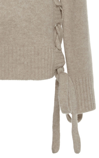 Le Side Tie Sweater by FRAME DENIM Now Available on Moda Operandi