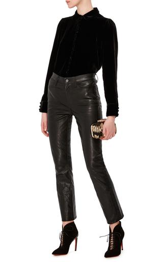 Le Velvet Blouse by FRAME DENIM Now Available on Moda Operandi
