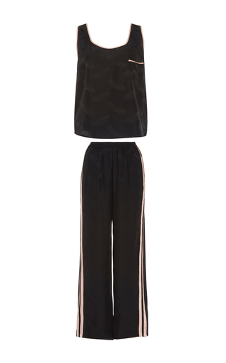 Track Suit Pajama Set by MORGAN LANE Now Available on Moda Operandi