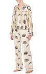 Ruthie Classic Pajama Set by MORGAN LANE Now Available on Moda Operandi