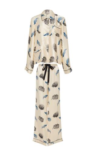 Medium morgan lane ivory ruthie classic pajama set