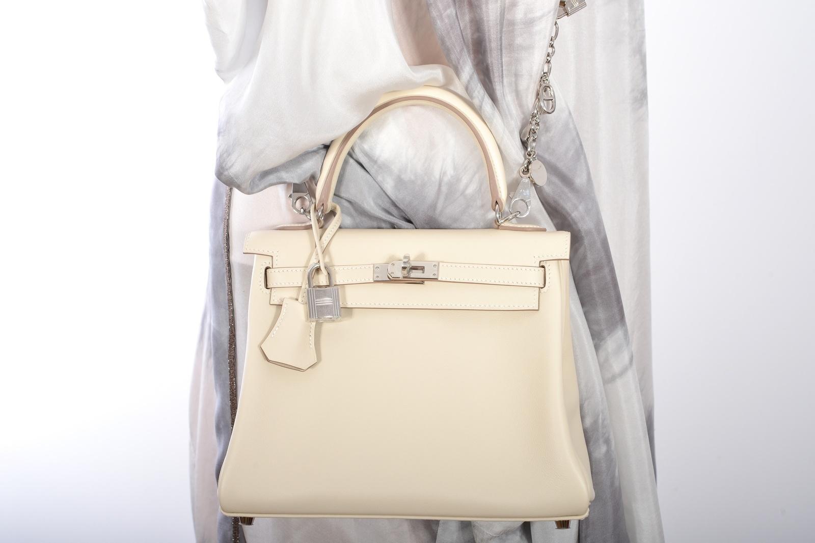 bf7242d80eaf Hermes Vintage25cm Craie Kelly Hermes Bag. CLOSE. Loading. Loading