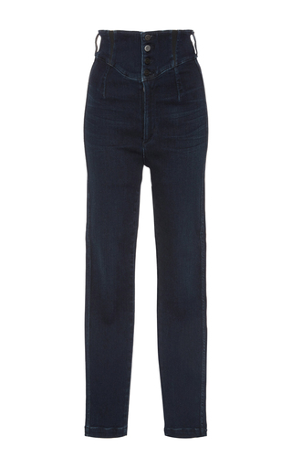 Medium citizens of humanity dark wash tiana super high rise jeans