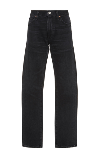 Medium citizens of humanity dark wash agnes straight leg jeans