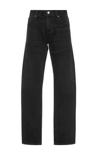 Medium citizens of humanity dark wash agnes straight leg jeans