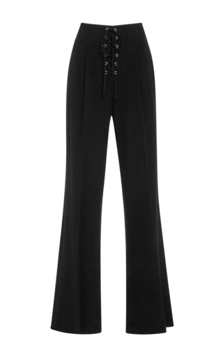 Medium a l c black estrada high rise trousers