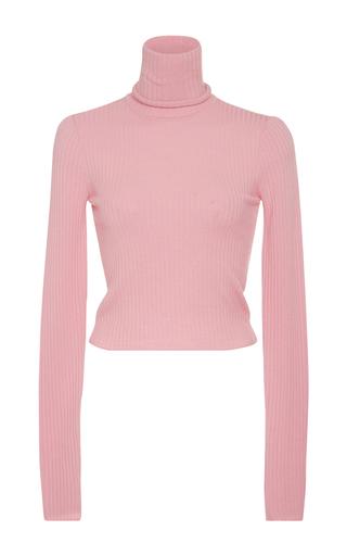 Medium a l c pink elisa turtleneck sweater