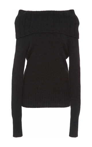 Medium a l c black monica off the shoulder sweater