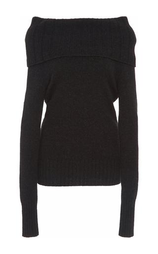 Medium a l c black monica off the shoulder sweater