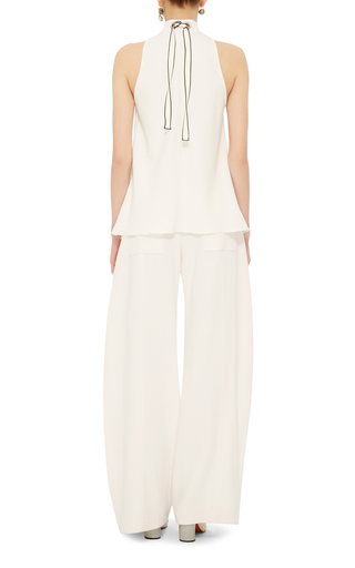 Satin Crepe Swing Top by PROENZA SCHOULER Now Available on Moda Operandi