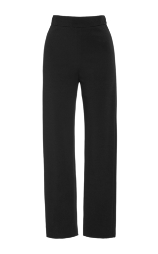 Medium brandon maxwell black suiting cady cigarette pant