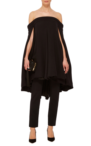 Off The Shoulder Swing Dress by BRANDON MAXWELL Now Available on Moda Operandi
