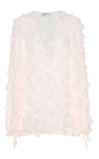 Medium alice mccall pink in bloom blouse