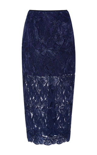Medium alice mccall navy electric dreams skirt