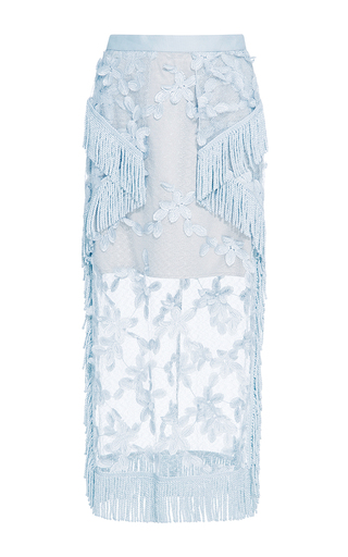 Medium alice mccall light blue blue i hope you dance skirt