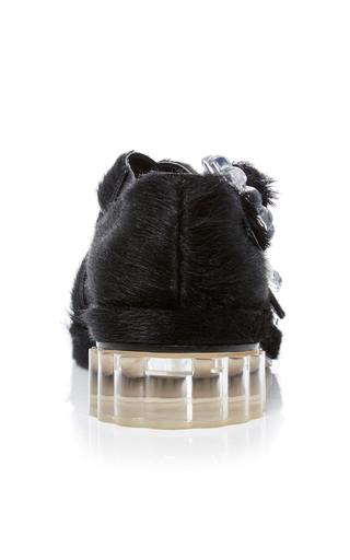 Pony Hair Flat by SIMONE ROCHA Now Available on Moda Operandi