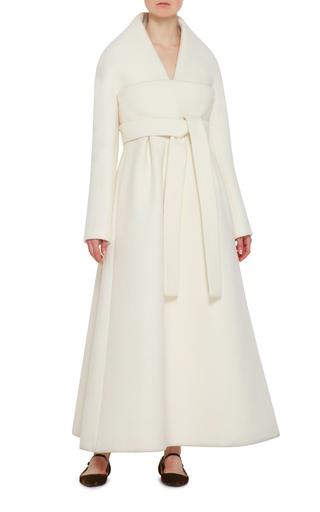 Kimono V Neck Coat by DELPOZO Now Available on Moda Operandi