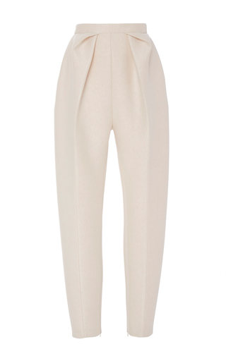 Medium delpozo pink high waisted pleated trousers