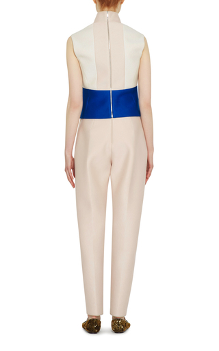 Multicolored Sleevless Top by DELPOZO Now Available on Moda Operandi