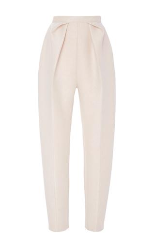 Medium delpozo gold side pleated trousers