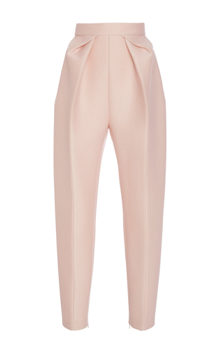 Medium delpozo pink highwaisted pleated trousers