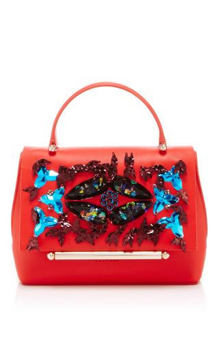 Medium delpozo red mini bo bag  2