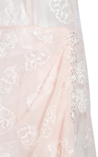 Tinsel Embroidery Tulip Dress by SIMONE ROCHA Now Available on Moda Operandi
