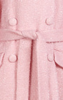 Sparkle Wool Double Breasted Coat by SIMONE ROCHA Now Available on Moda Operandi