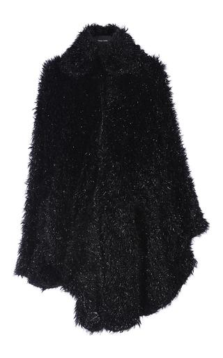 Medium simone rocha black black tinsel cape