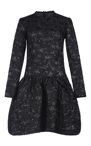 Medium simone rocha black lava dropped waist dress