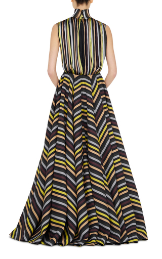Dorothea Short Sleeved Gown by EMILIA WICKSTEAD Now Available on Moda Operandi