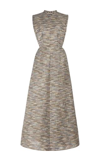 Medium emilia wickstead multi nursey sleeveless midi dress