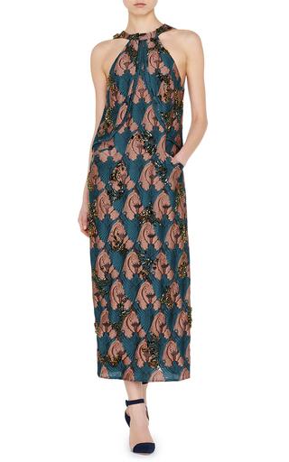 Sixty Embroidered Bib Dress by EMILIA WICKSTEAD Now Available on Moda Operandi