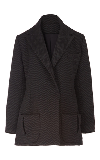 Oversized Tuxedo Jacket by EMILIA WICKSTEAD Now Available on Moda Operandi