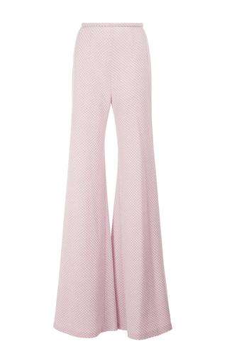 Medium emilia wickstead pink dario highwaisted flared pants
