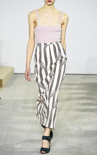Lia High Waist Skirt by EMILIA WICKSTEAD Now Available on Moda Operandi