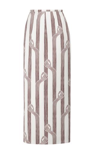 Medium emilia wickstead print lia highwaisted midi skirt