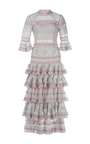 Sheer Ruffle Dress by TEMPERLEY LONDON Now Available on Moda Operandi