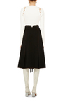 High Waist Lace Up Skirt by PROENZA SCHOULER Now Available on Moda Operandi