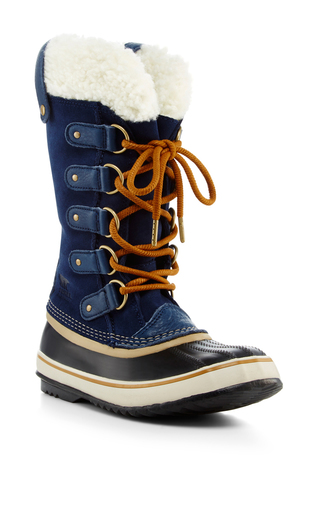 Medium sorel navy joan of arctic shearling boot  2